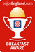 Visit Britain Breakfast Award